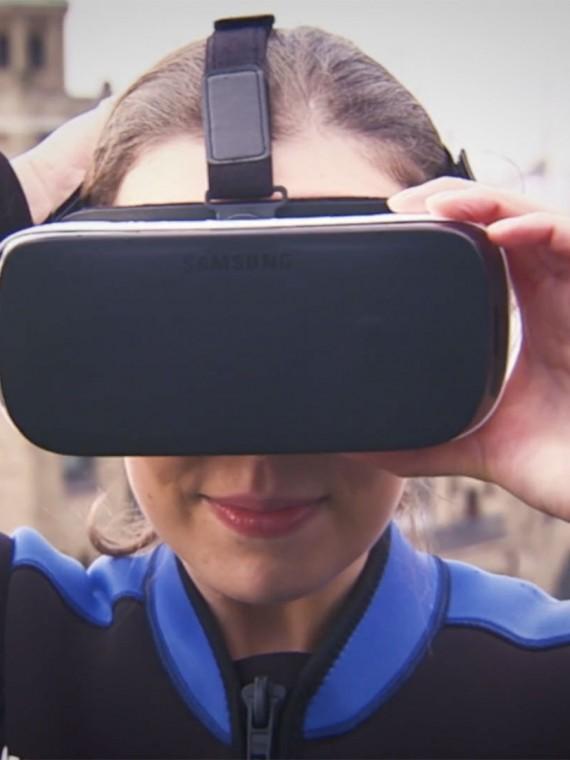 upstairs Samsung Promotion Videodreh Meeting Event Kick Off Gear VR