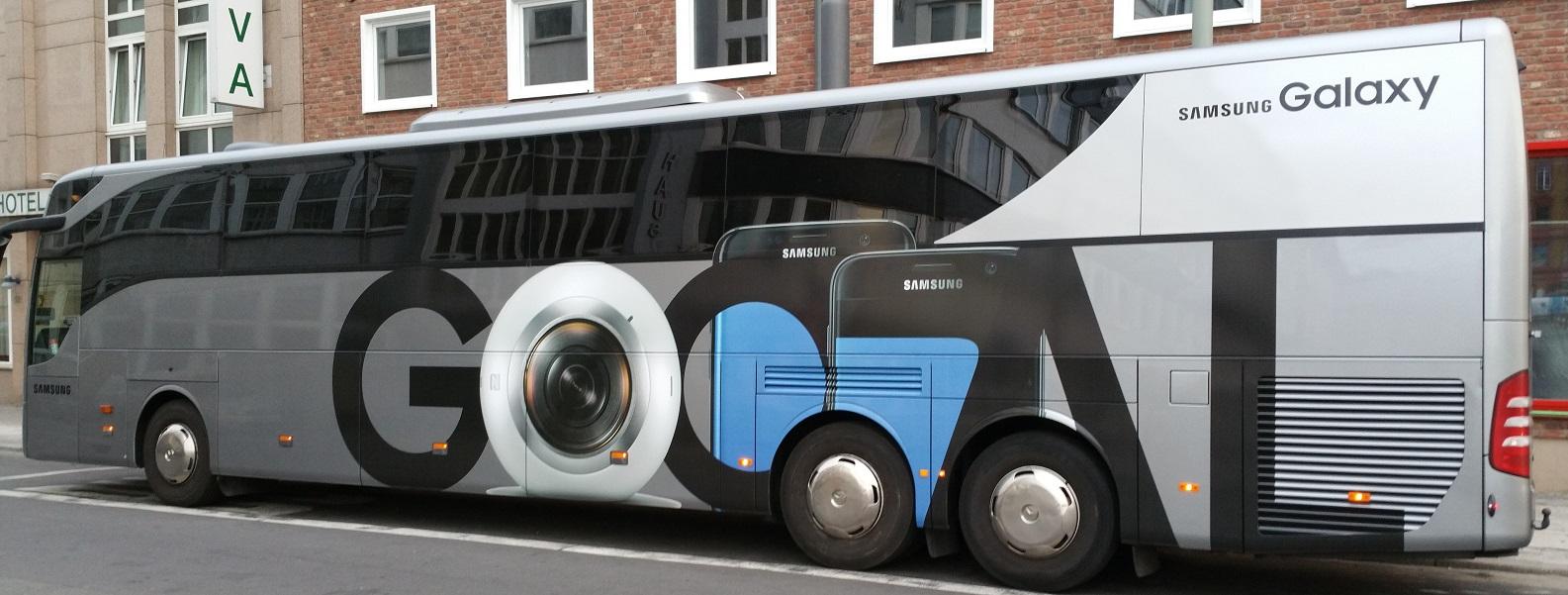 Samsung Euro 2016 Bus