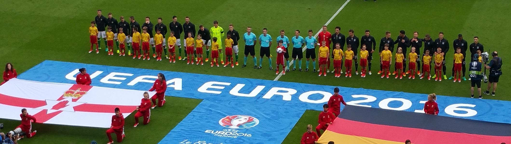 Euro 2016 Einlauf