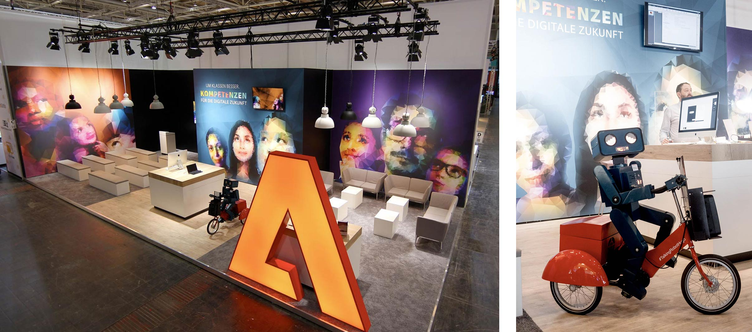 Adobe Didacta Event Stand